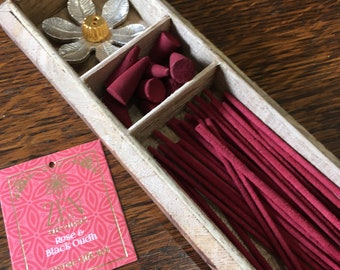 Rose and Black Oudh Incense Gift Set by Zen Aromas