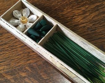 Jasmine and Marigold Incense Gift Set by Zen Aromas
