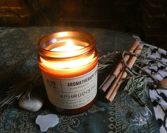 A Blend for Romance - Luxury Hand-Poured Essential Oil Candle - 40 hour