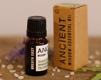Breathe Easy Essential Oil Blend - 10ml Bottle