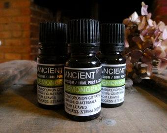 Lemongrass Essential Oil - 10ml Bottle