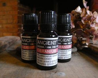 Geranium Essential Oil - 10ml Bottle