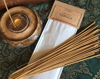 Vanilla Incense Sticks - Fifty Sticks