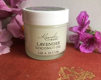 Lavender Coconut Oil - 1oz - by Kuumba Made
