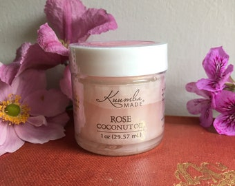 Rose Coconut Oil - 1oz - by Kuumba Made