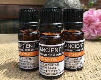 Orange Essential Oil - 10ml Bottle