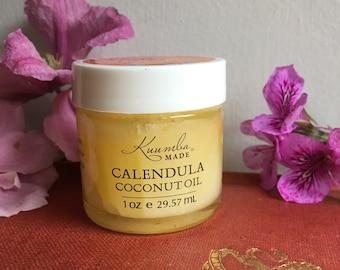 Calendula Coconut Oil - 1oz - by Kuumba Made