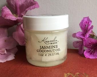 Jasmine Coconut Oil - 1oz - by Kuumba Made