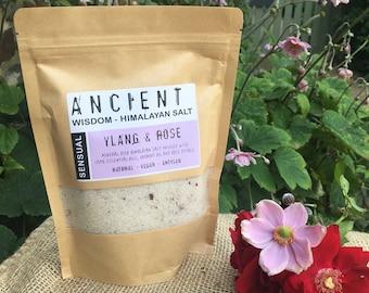 Sensual - Ylang Ylang & Rose Himalayan Bath Salts Blend