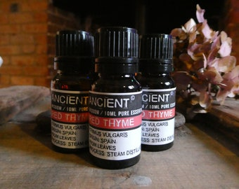 Red Thyme Essential Oil - 10ml Bottle