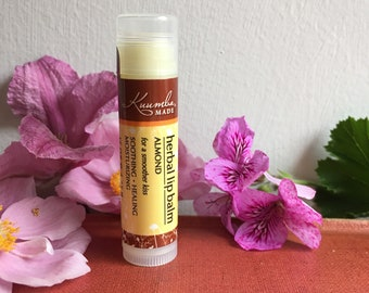 Almond Herbal Lip Balm - by Kuumba Made