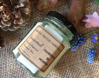 Unscented Rapeseed & Coconut Wax - 4oz Jar