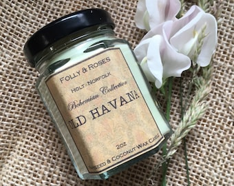 Old Havana Natural Wax Candle - 2oz Container - Bohemia Collection