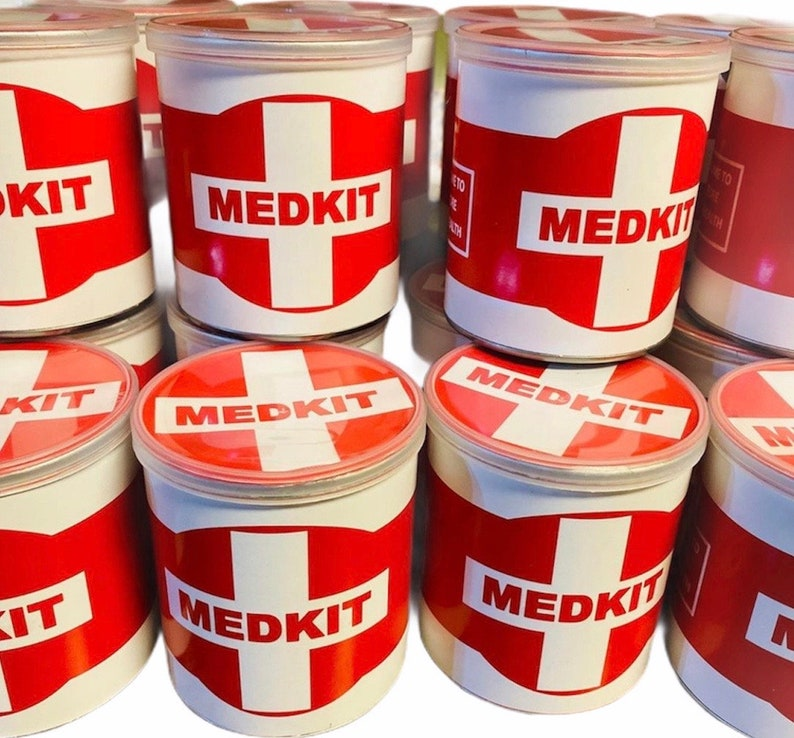 PDF Favors Printable Med Kit Labels for 1.4 oz Pringles Digital Download