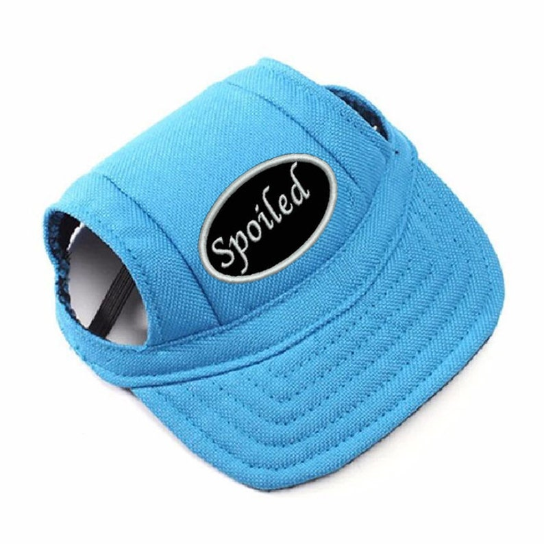 Dog Hat: Baseball Hat multiple colors With Several Patch image 0