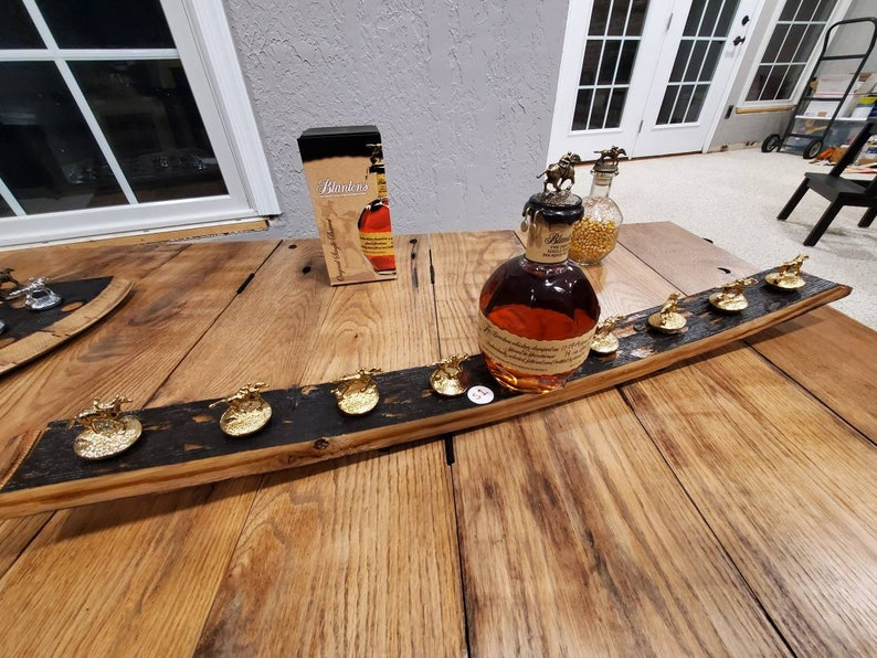 Blanton/'s stopper barrel GRAND stave display wood bourbon Blantons cork horse whiskey glorifier SAVE with Minor Defects