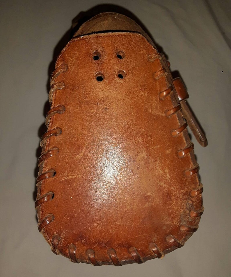 Medieval leather bag