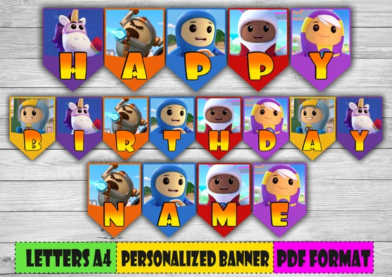 Go Jetters Custom Personalize Birthday Party Favor Gift T-Shirt