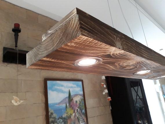colgante Lámpara Lámpara encendida madera de de madera Lámpara colgante encendida Yb76gyvf