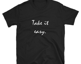 Take It Slow Quote Etsy
