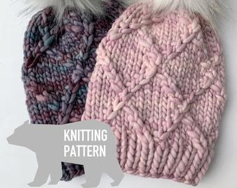 9817b3536bf Knitting Pattern  Honeysuckle Hat