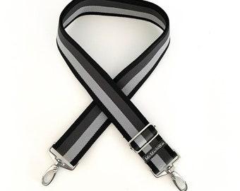 Shoulder strap| Interchangeable belt| Pocket straps| Colorful pocket strap|  Webbing to change: Black Grey wide