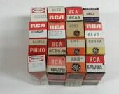 16 New Unused Miscellaneous Radio Vacuum Tubes VT-0132