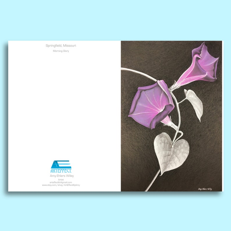 Morning Glory Note CardNote Card Set