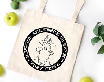 3b1a98f06749 Vegan grocery bag | Etsy
