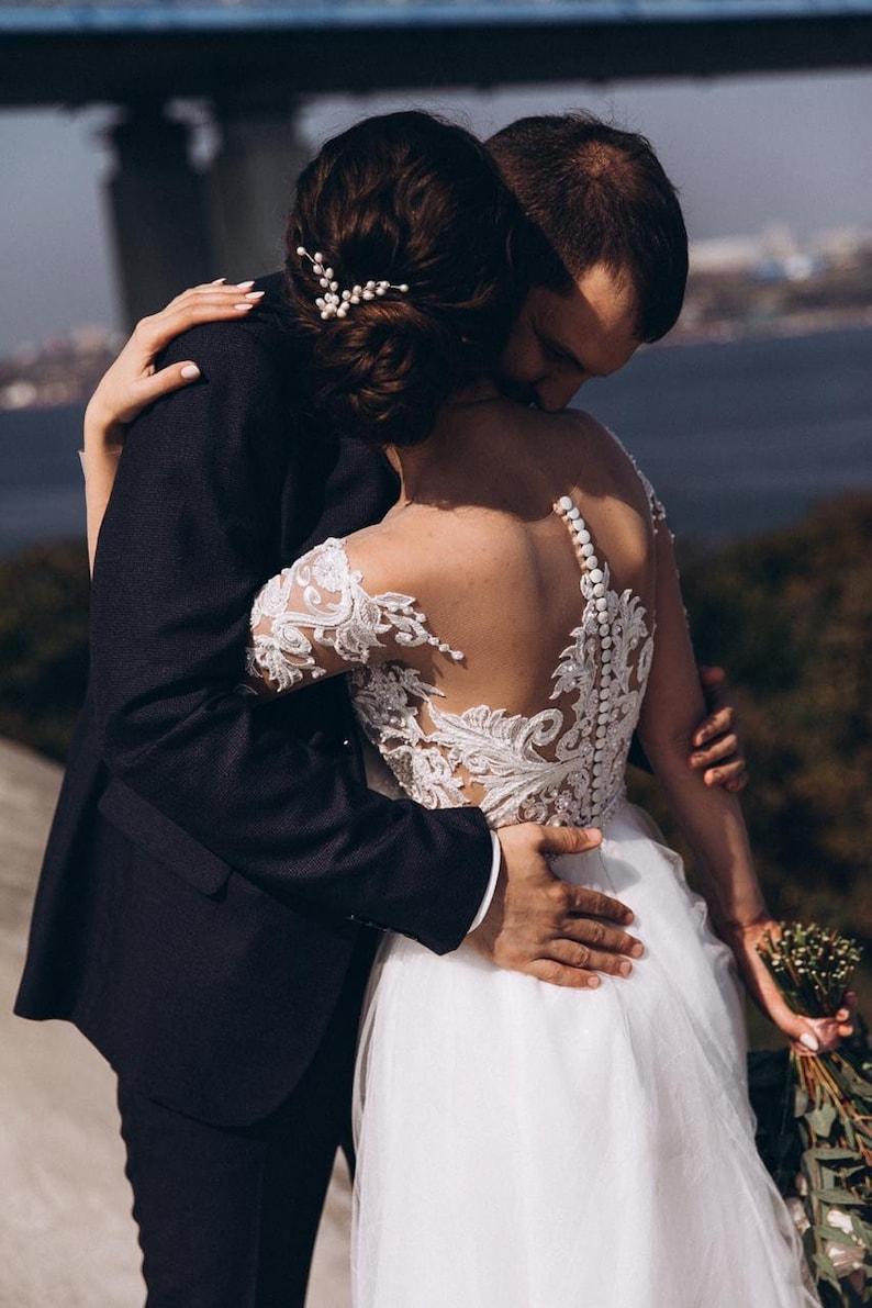 Wedding hair pins Bridal hair pins Wedding hair comb Bridal hair accessories Bridal hair comb Wedding hair accessories Bridal headpiece Pins