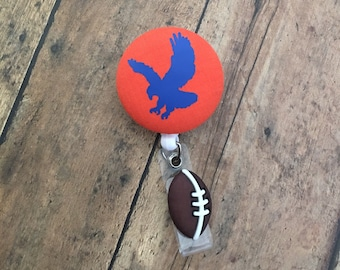 SANDOL Auburn War Eagle Retractable Badge Reel