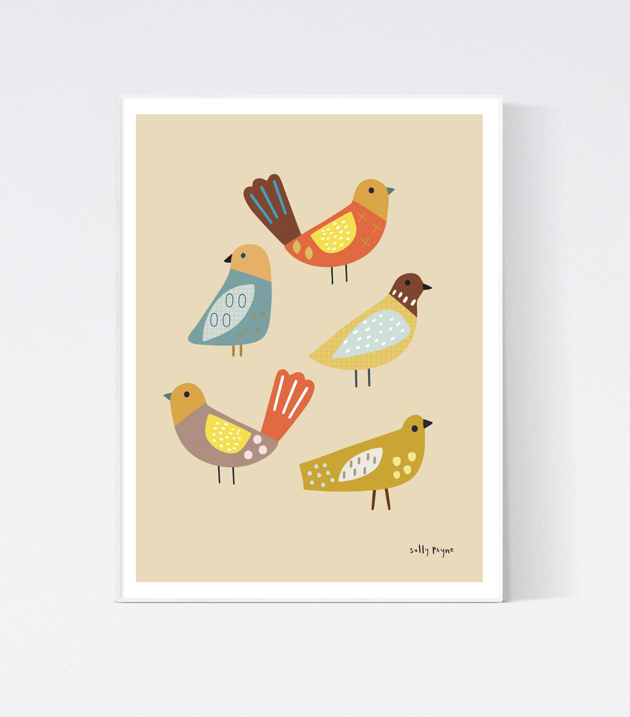 Bird Wall art -  wall art -  Wall prints - Children's wall art