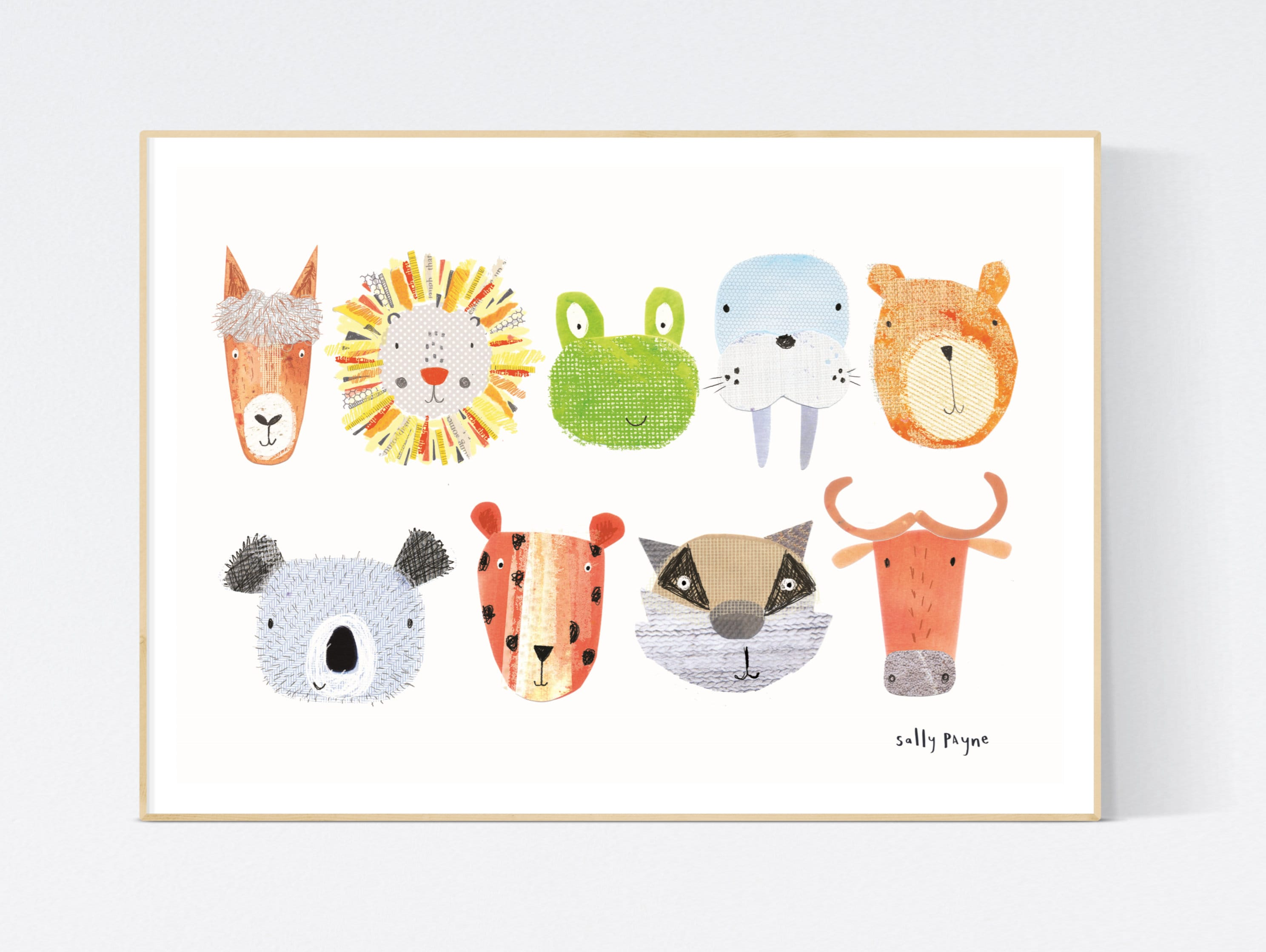 Animal Wall art -  wall art -  Wall prints - Children's wall art