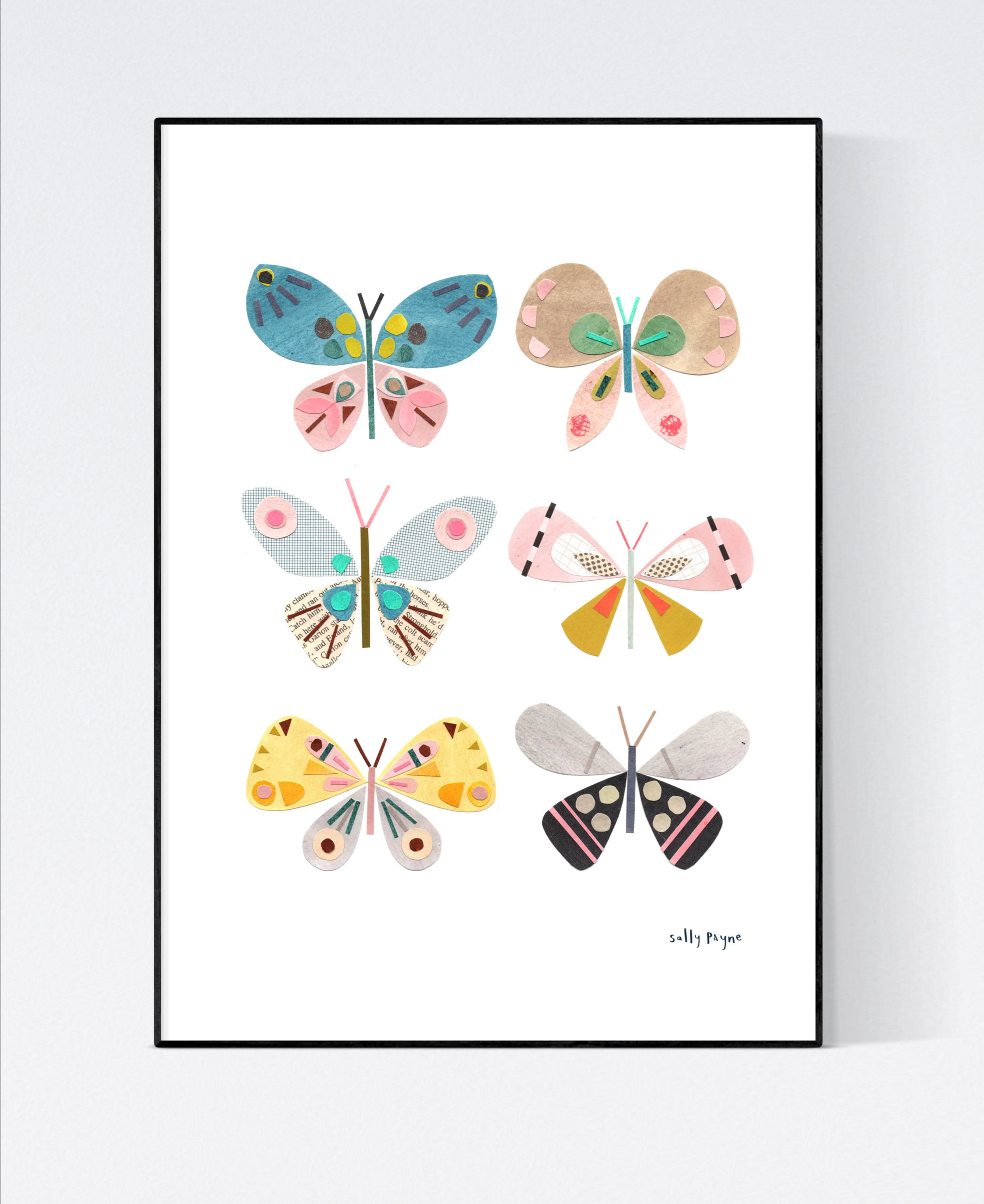 Butterfly Wall art -  wall art -  Wall prints - Children's wall art