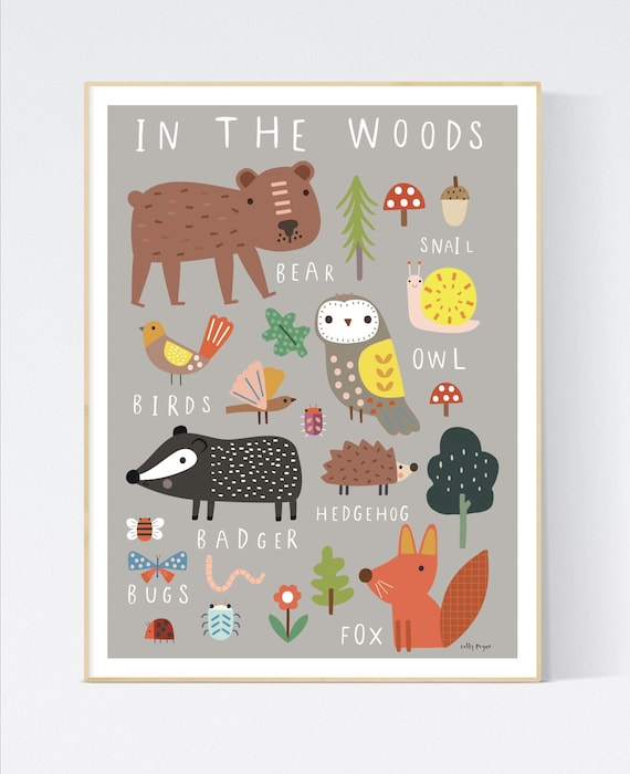 In the woods wall art