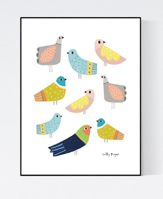 Bird wall art
