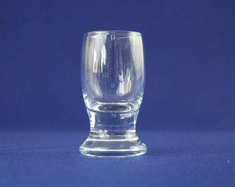 Holmegaard TIVOLI COPENHAGEN  Glas Ice Blue LIKÖRGLAS  9 cm
