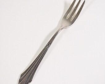 WMF Patent Besteck Fächermuster Dessertlöffel 12,5 cm 90er Silberauflage