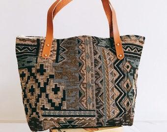 7a555efc33 Surin shoulder/shopping bag Original pattern Thai ethnic fabric (100%  cotton)
