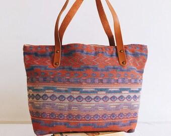 ad2e0dd53f Huahin shoulder/shopping bag Original pattern Thai ethnic fabric (100%  cotton)