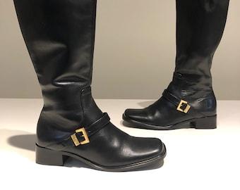 d3e2af76bfe Etienne aigner boots | Etsy