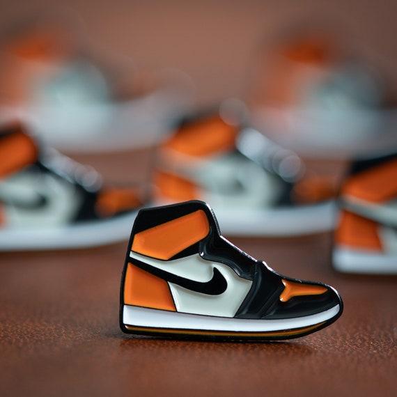 check out 184ce 77a6b Nike Air Jordan 1 Shattered Backboard Enamel Pin