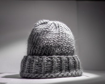 1621ca7513d 100% Wool Hand Knitted Hat women