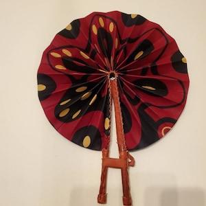 Hot Stuff Hand-held 100/% eco-friendly fabric fan by Fan Fatale