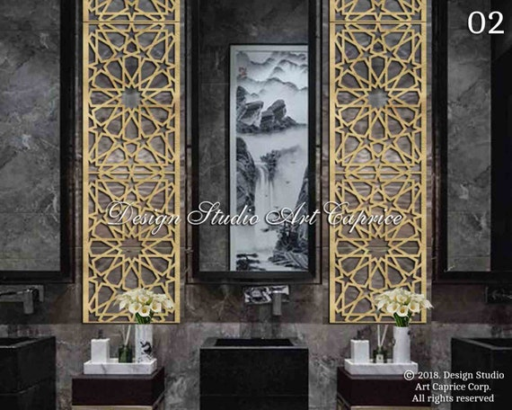 Decorative Wall Art Custom Designed Metal Panel Office Home Outdoor Or Indoor Use Wap 02