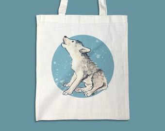 Jute Bag Wolf