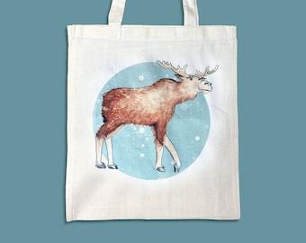 Jute Bag Moose
