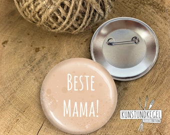 Button, pin, pin, pin, best mom, artandcone, gift, souvenir, surprise