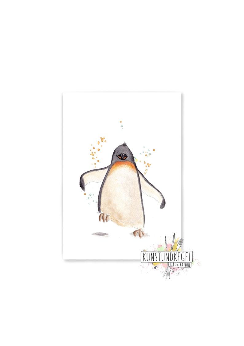 Tom dancer art print nursery children's art decoration image 0