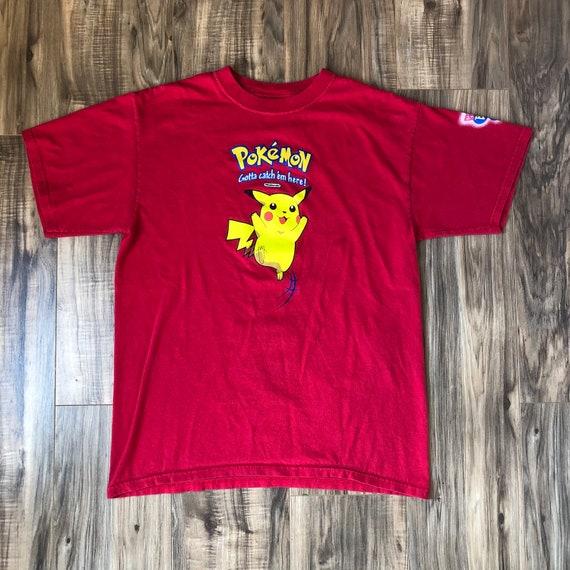 Pokémon T Shirt Large Vintage Burger King Promo Ki